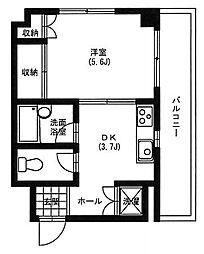 金子ビル浅間町[3階]の間取り