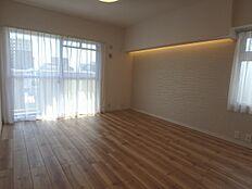 14.5帖もあるリビングダイニングは家具の配置が楽しくなりますね