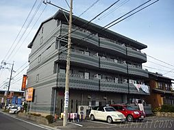 岐阜県海津市南濃町松山の賃貸マンションの外観