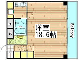 内外うつぼビル[4階]の間取り