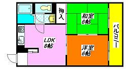 メゾン・長田 903号室[9階]の間取り