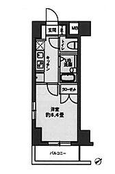 東京都豊島区西池袋5丁目の賃貸マンションの間取り