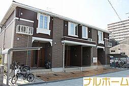 大阪府大阪市平野区長吉六反2丁目の賃貸アパートの外観