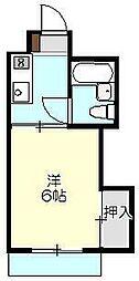 レジオンモリタ[1階]の間取り
