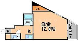 クリスタルコート26[2階]の間取り