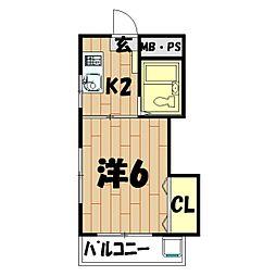 南万騎が原駅 3.5万円