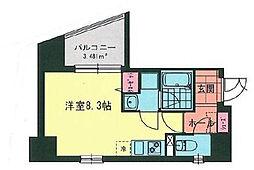 MY桜木町[8階]の間取り