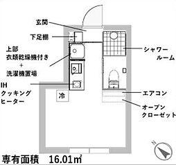 新築 レスタ大井町[204号室号室]の間取り