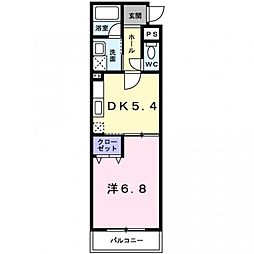 コーディアルホームズ[106号室号室]の間取り
