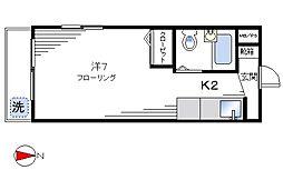 TAIYOマンション[101号室]の間取り