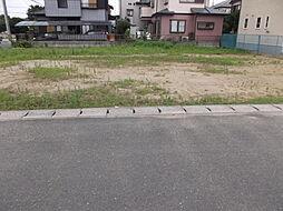 敷地面積は広々...
