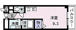 初ビル[202号室]の間取り