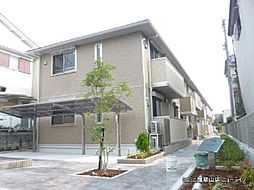 大阪府東大阪市六万寺町の賃貸アパートの外観