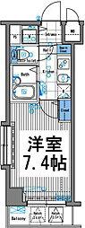 グランド・ガーラ三田[4F号室]の間取り