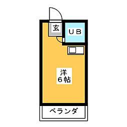 ドール神穂[3階]の間取り