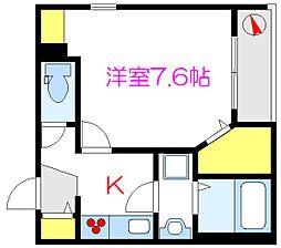 (仮称)浅草3丁目メゾン 4階1Kの間取り