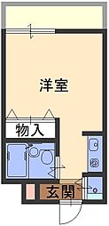 ダイドーメゾン魚崎[1号室]の間取り