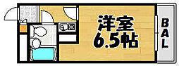 兵庫県川西市出在家町の賃貸マンションの間取り