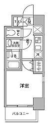 パークフラッツ横濱平沼橋[2階]の間取り