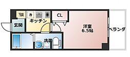 SWISS京橋[304号室号室]の間取り