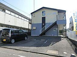愛知県清須市西枇杷島町下新の賃貸アパートの外観