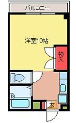 育宝毛呂山ビル[4階]の間取り