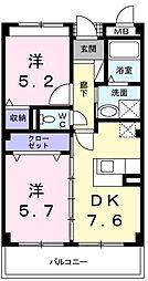 セルバ[3階]の間取り