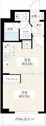 カスタリア新宿御苑(インターネット接続料無料)[705号室号室]の間取り
