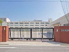 周辺環境-中学校(1600m)江東区立第二砂町中学校