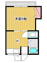 第8丸三マンション[2階]の間取り