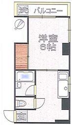 小野マンション[4階]の間取り