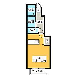 ピュアライト[2階]の間取り