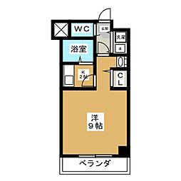 ラモーダ堀川[8階]の間取り