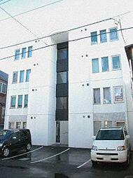北海道札幌市北区北七条西8丁目の賃貸マンションの外観