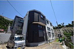 神奈川県横浜市南区永田東の賃貸アパートの外観