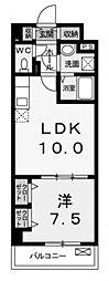 カーサフェリーチェ[4階]の間取り