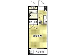 アネックス久米川[1階]の間取り