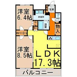 グラン・アベニュー名駅(メイエキ)[7階]の間取り