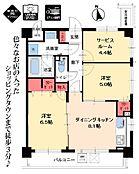 リノベーション済。家具付。南東角部屋。平成10年築。スカイツリービュー。