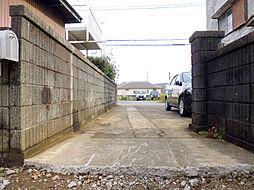 敷地入口です
