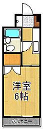 第8山仁ビル[502号室]の間取り