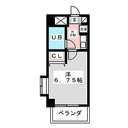 ライオンズマンション宇都宮一番町[1階]の間取り