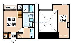 花園本町テラス[1階]の間取り