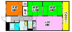 メゾン・プランシェール 103号室[1階]の間取り