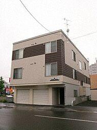 北海道札幌市北区新琴似八条1丁目の賃貸アパートの外観