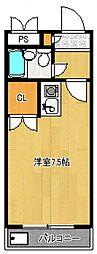 煉瓦館87[303号室号室]の間取り