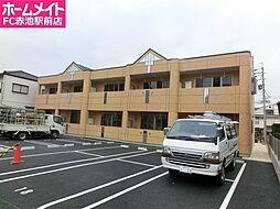 愛知県日進市香久山3丁目の賃貸アパートの外観