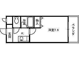 ベルデ堺東[113号室]の間取り