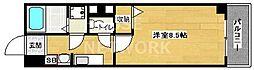マ・アビタション[607号室号室]の間取り