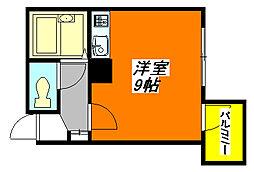 清洲プラザ・高井田 905号室[9階]の間取り